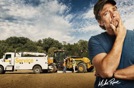 Mike Rowe says visit Milton-Cat and Boston Fuel Injection!